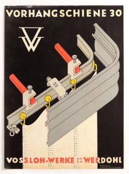 Vorangschiene 30 Volatino Germania anni '30